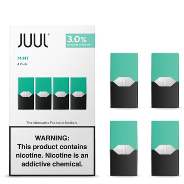 New Juul 3% Flavor Pods - (4 Pods/1 Pack) (Pod Mods & Pods