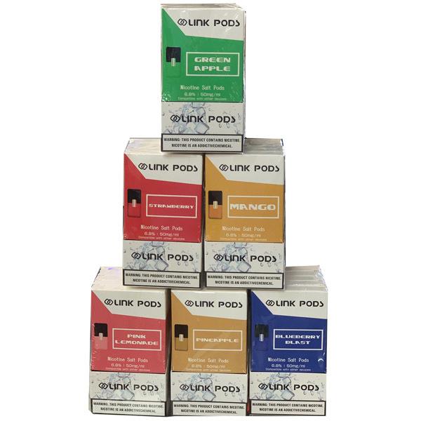 Link Flavor Pods - JuuL Compatible (4 Pods/1 Pack) (Pod Mods