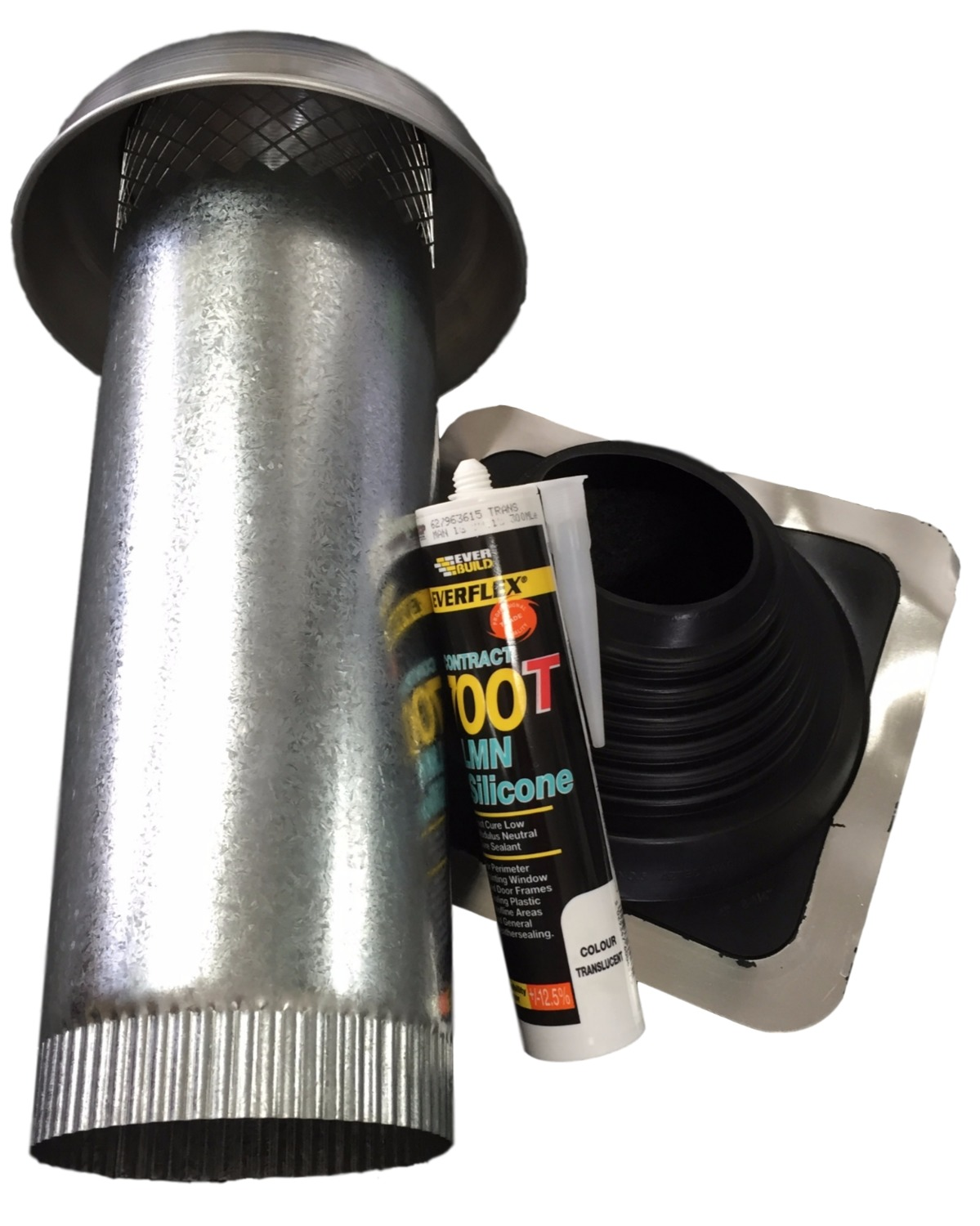 Roof Cowl Kit 100o Roof Cowls Airflow The Hvac Shop