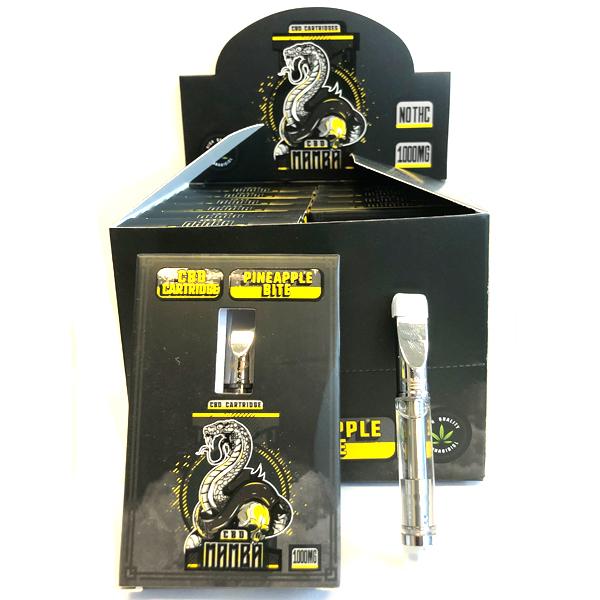 CBD Mamba Premium CBD Oil Filled Cartridge 1000mg (1ml) (Cbd