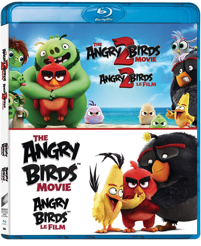 Angry Birds Movie The Angry Birds Movie 2 The Blu Ray Sony