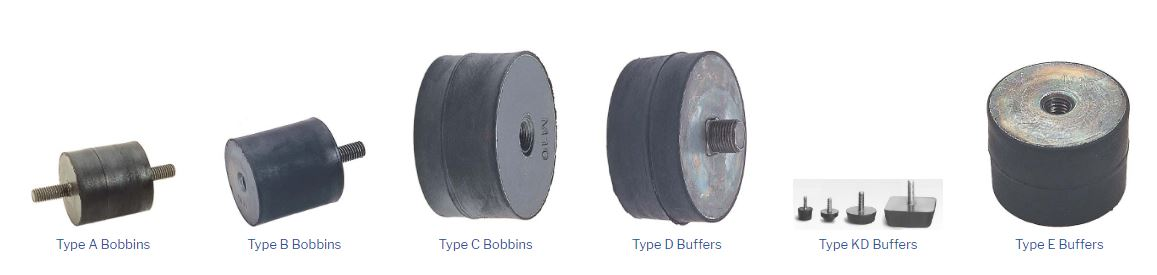 Banner rubber mounts