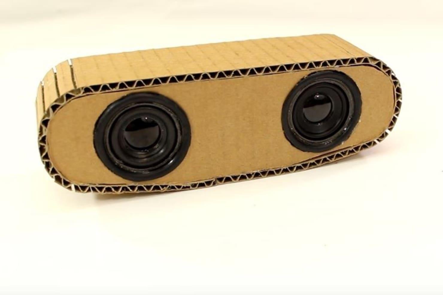 DIY Speaker Cardboard by @botler | Wikifactory