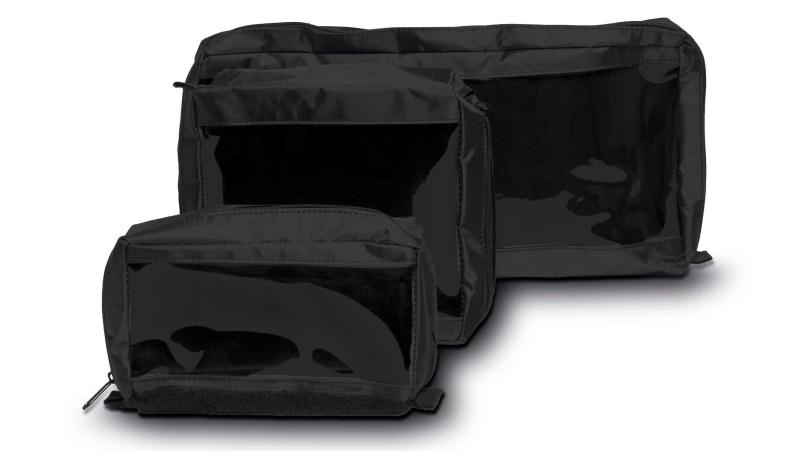 AED backpack flexible storage web