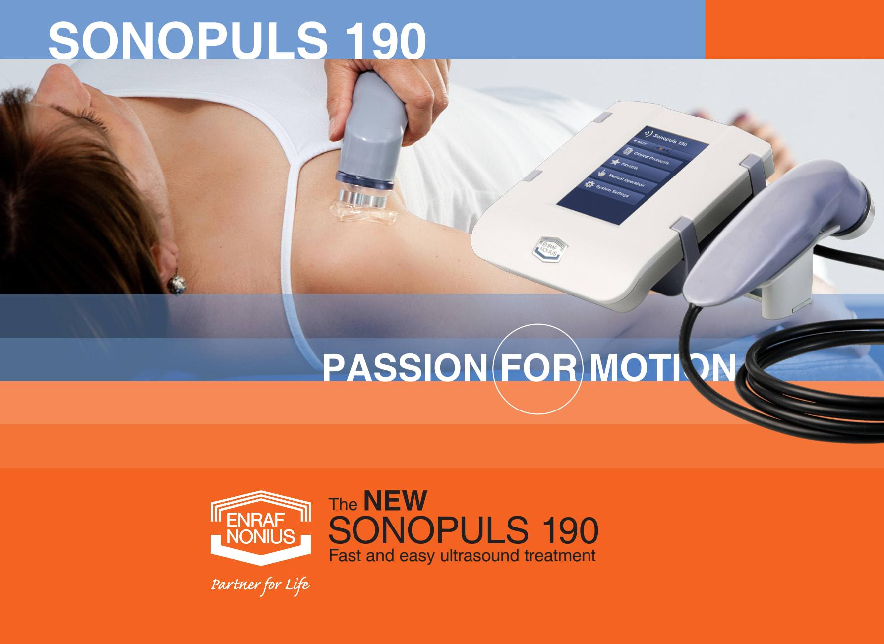 Enraf-Nonius Sonopuls 190 Ultrasound - demo