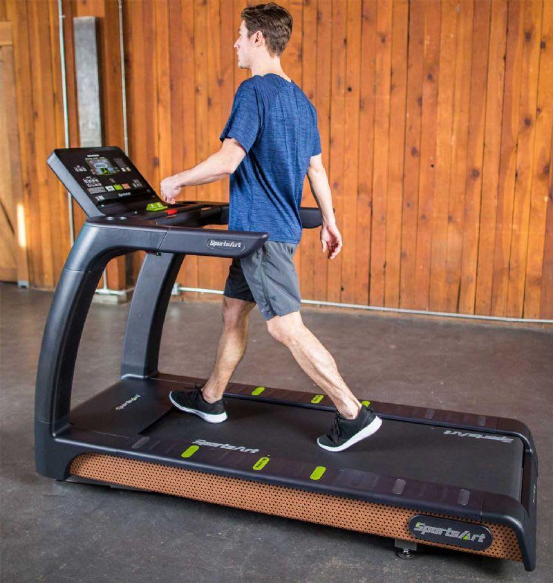 SportsArt Full treadmill man