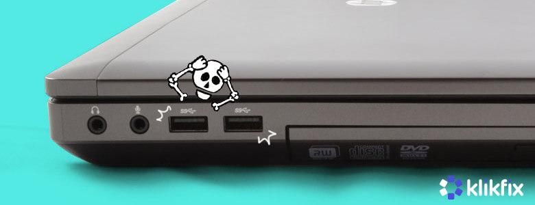 Trik Jitu Memperbaiki Port USB Yang Tidak Berfungsi