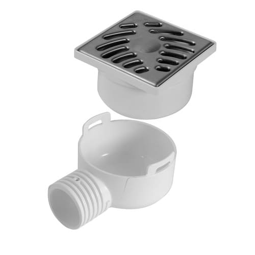 SIHJ10IH - Universal Shower Trap with Stainless Steel Grid