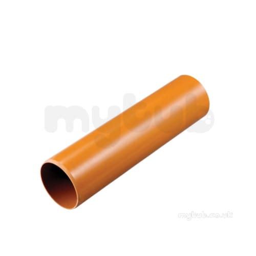 UL406 - 2m Plain Normal Duty Pipe 110mm