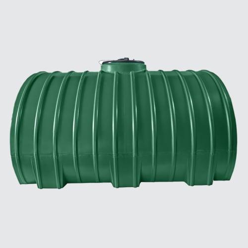 2500HORW JJG - 2500Lt Hor Water Tank Jojo Green