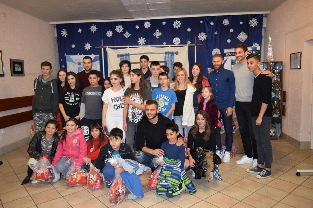 S nogometašima Nogometnog kluba Osijek