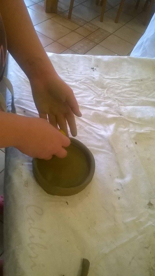 Izrada predmeta od gline