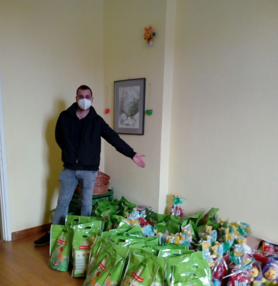 Učitelji iz Međimurja darovali djeci uskrsne paketiće