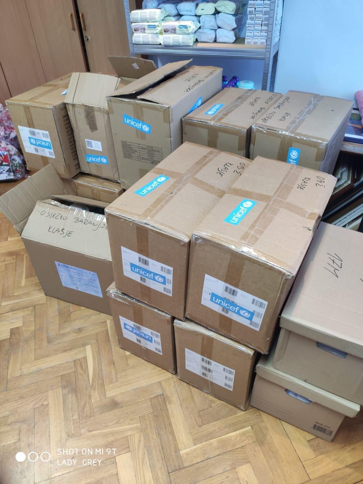 UNICEF donirao zaštitnu opremu