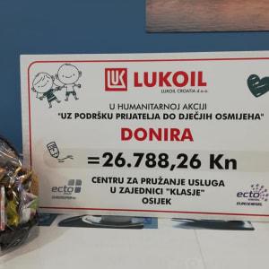 Završavamo uređenje blagovaonice zahvaljujući Lukoilu!