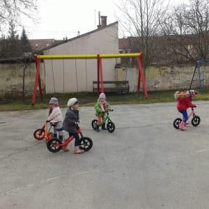 Predškolci dobili bicikle!