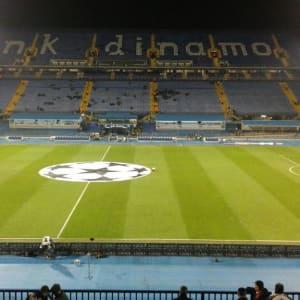 Bili smo na utakmici Dinamo – Olympiakos