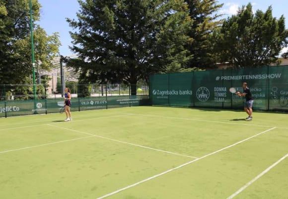 Prvi javni teniski teren u Osijeku