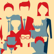 business men women illustration