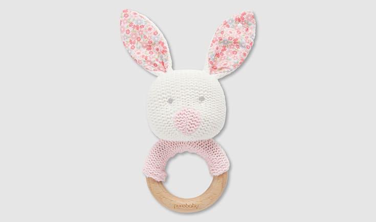 Purebaby Rabbit Teether