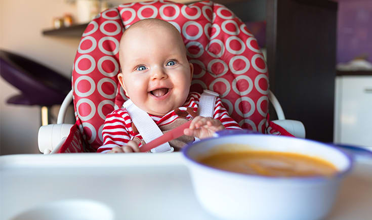 Adding spices and herbs to your baby's meals