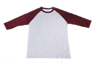 חולצות אמריקאיות   חולצה אמריקאית   הדפסה על חולצות   חולצה אמריקאית אפורה