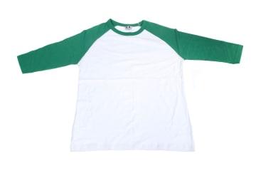 חולצות אמריקאיות   חולצה אמריקאית   הדפסה על חולצות   חולצה אמריקאית ירוק לבן