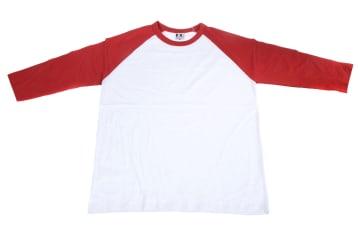 חולצות אמריקאיות   חולצה אמריקאית   הדפסה על חולצות   חולצה אמריקאית אדום לבן