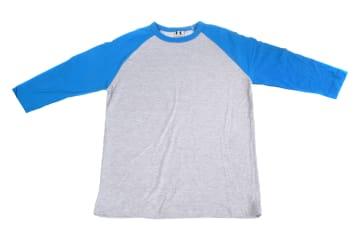 חולצות אמריקאיות | חולצה אמריקאית | הדפסה על חולצות | חולצה אמריקאית טורקיז אפור