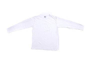 חולצה שרוול ארוך   חולצת כותנה   חולצות שרוול ארוך בצבע לבן