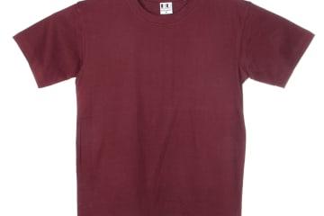 הדפסה על חולצה | חולצת כותנה | חולצות כותנה | חולצת כותנה בורדו