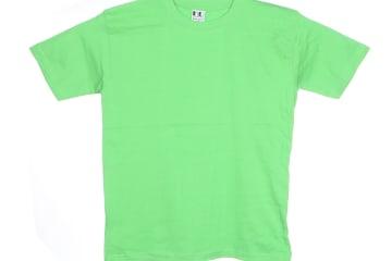 הדפסה על חולצה   חולצת כותנה   חולצות כותנה   חולצת כותנה בצבע ירוק תפוח