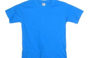 הדפסה על חולצה | חולצת כותנה | חולצות כותנה | חולצת כותנה בצבע רויאל
