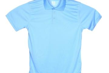 חולצת פולו   חולצות פולו דרייפיט   חולצת פולו בצבע תכלת