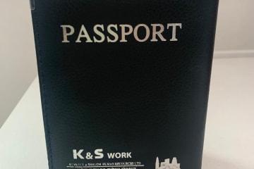 כיסוי דרכון ממותגים | הדפסה על כיסוי דרכון | כיסוי דרכון לחברת K&S