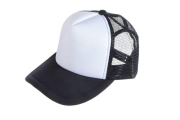הדפסה על כובע | הדפסה על כובע רשת | כובע רשת מודפס | כובע רשת בצבע שחור