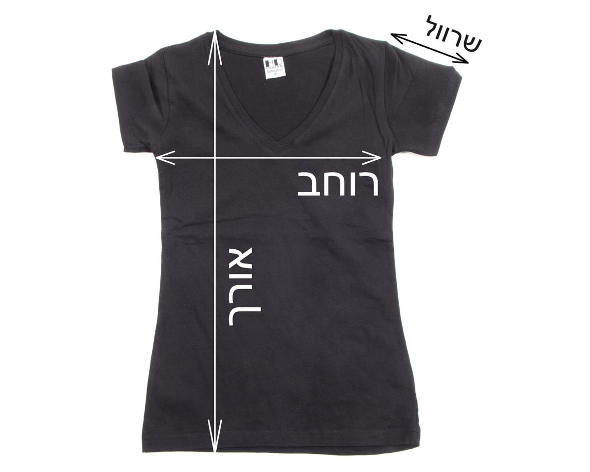 חולצת נשים מידות | גדלים של חולצות נשים | טבלת מידות חולצות נשים