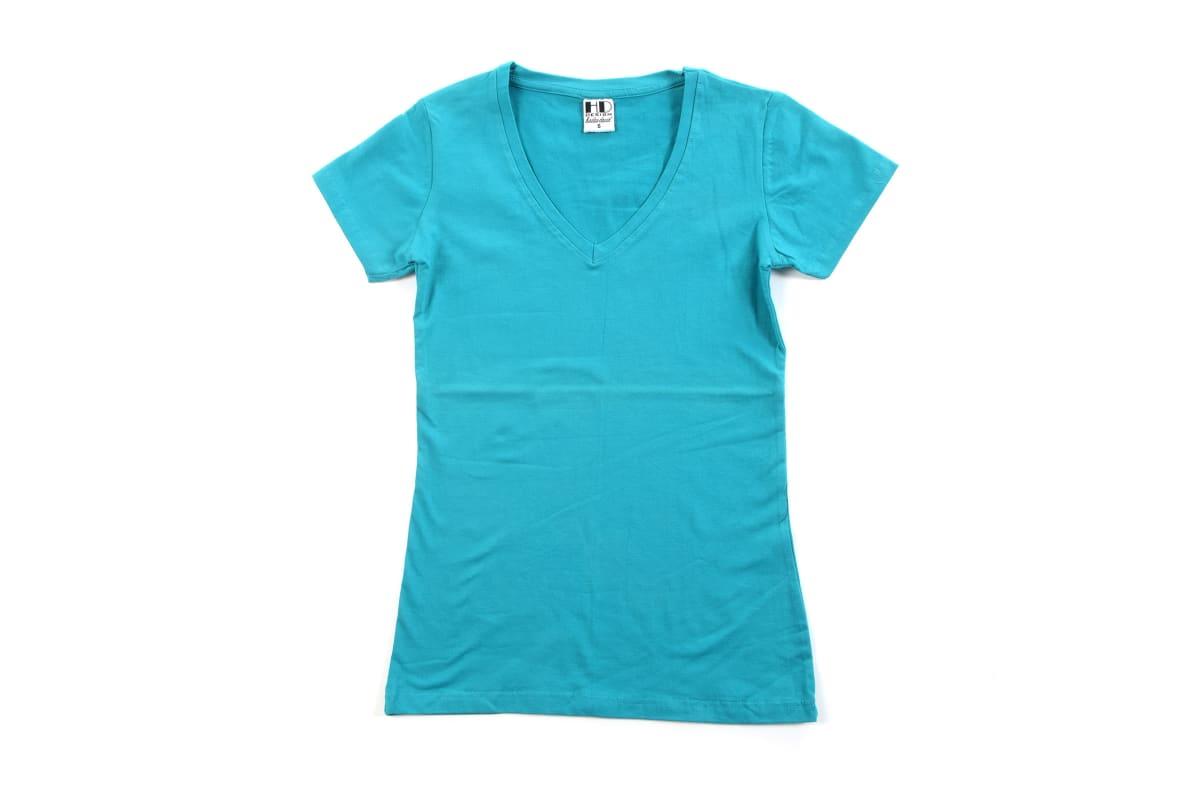 לייקרה | חולצת לייקרה | חולצת כותנה | חולצת לייקרה לנשים בצבע בורדו