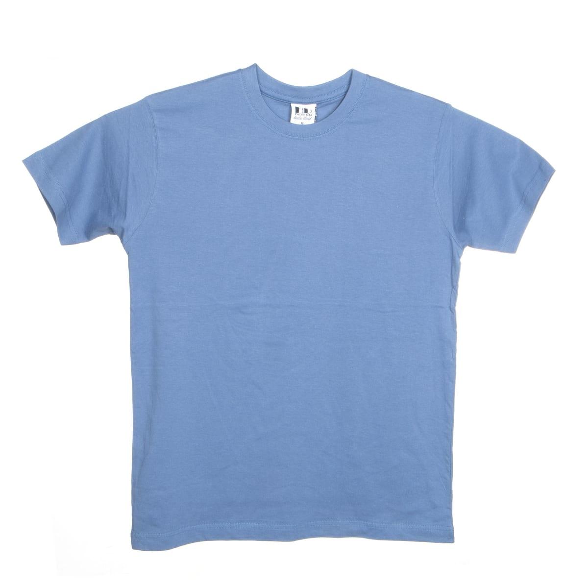 הדפסה על חולצה   חולצת כותנה   חולצות כותנה   חולצת כותנה בצבע ג׳ינס