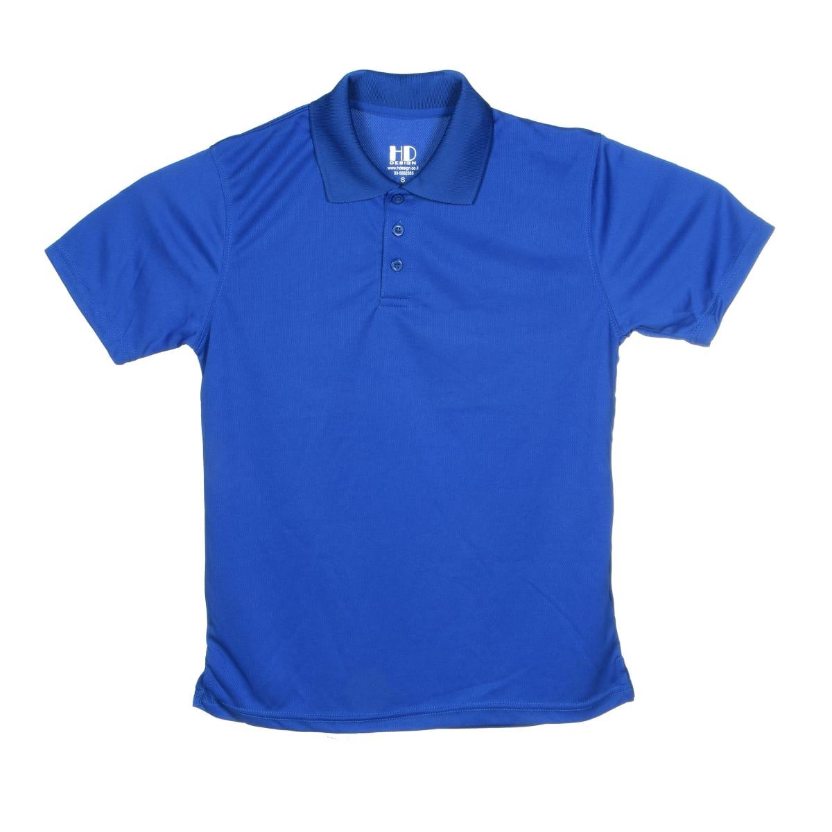 חולצת פולו   חולצות פולו דרייפיט   חולצת פולו בצבע כחול רויאל