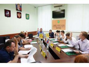 Перовские парламентарии провели внеочередное заседание депутатского корпуса. Фото Александра Калугина