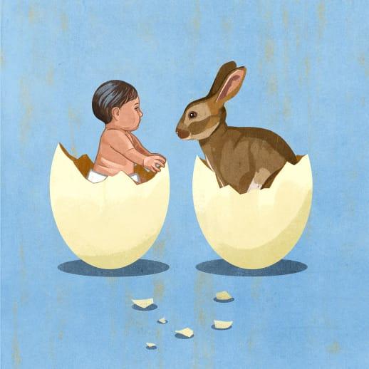 Von einem Mann ohne Eier – die etwas andere Ostergeschichte