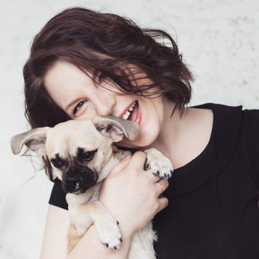 Endlich Zeit für einen Hund: Unternehmerin Franziska Freiermuth