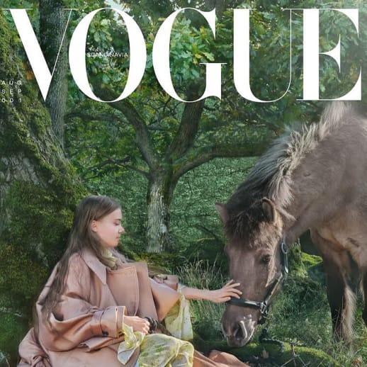 Fashion Weekly: Greta Thunberg kritisiert in der «Vogue» die Modebranche