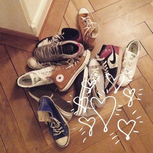 Männersachen: Grosse Sneakers-Liebe