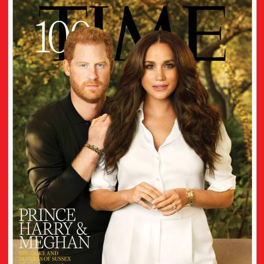 «Time 100»: Warum Meghan und Harrys Cover für Gesprächsstoff sorgt