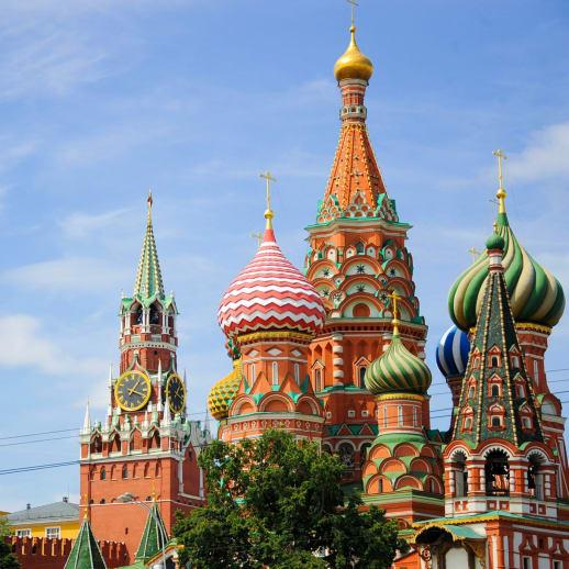 In Russland: Viele Optionen und grosses Know-how
