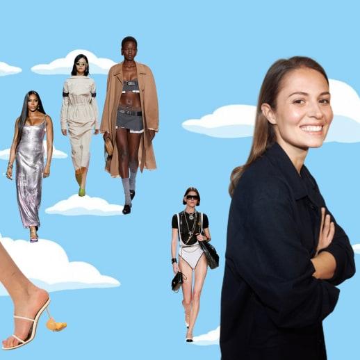 Luftküsse und lustige Accessoires: Modechefin Nathalie über die Fashion Weeks