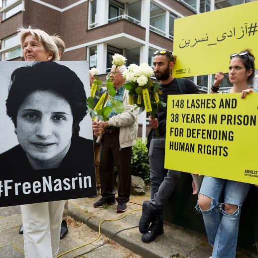 Liebe Nasrin Sotoudeh