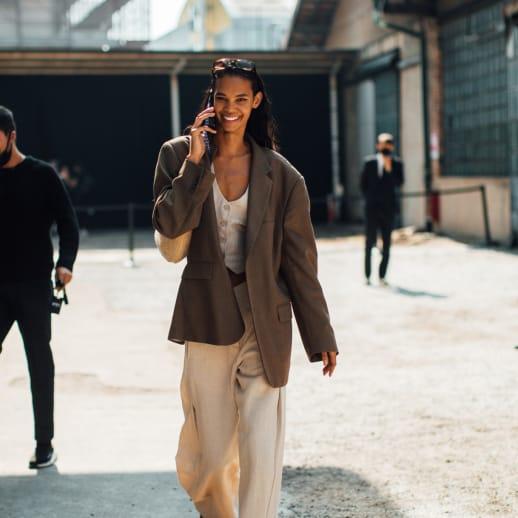 Heiter bis locker: Die besten Street-Style-Looks aus Mailand